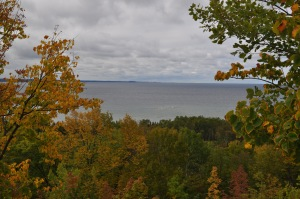 The beginning of fall in Northern Michigan